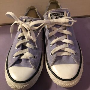 Lilac Converse Youth 2 Used